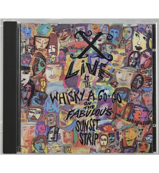 X-Live at the Whisky A Go-Go on the Fabulous Sunset Strip Elektra 9 60788-2 CD