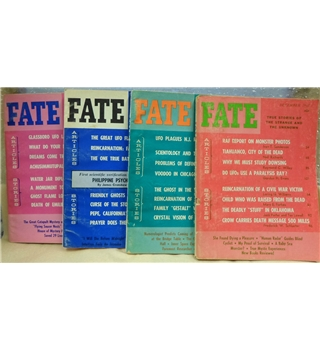 Classic issues of Fate magazine: 4 issues from 1966
