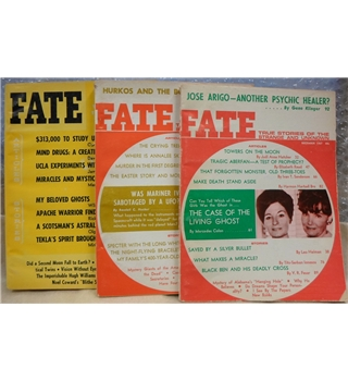 Classic issues of Fate magazine: 3 issues from 1967