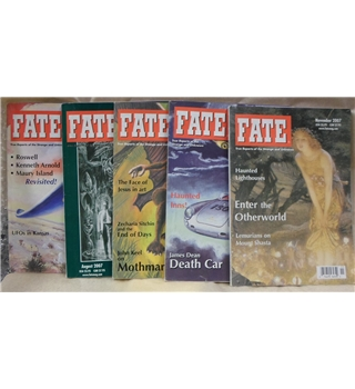 Classic issues of Fate magazine: 5 issues from 2007