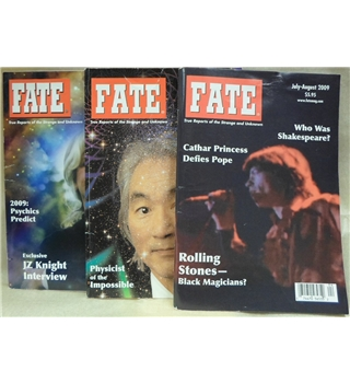 Classic issues of Fate magazine: 3 double issues from 2009