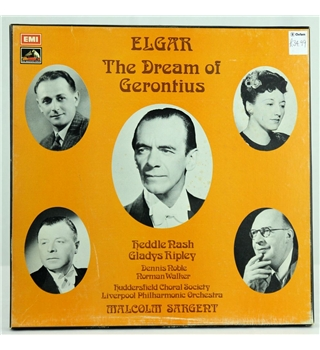 Elgar - The Dream of Gerontius Huddersfield Choral Society, Liverpool Philharmonic Orchestra, Sir Malcolm Sargent - RLS 709