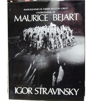 Photographs by Thierry boccon of  Maurice Bejart / Igor Stravinsky productions