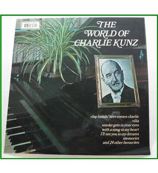 Charile Kunz vinyl collection - Charlie Kunz - 1) spa 15 (2) acl1078  (3) spa70