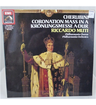 Cherubini Coronation Mass Riccardo Muti and Philharmonia Orchestra - 27 0283 1