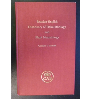 Russian-English dictionary of helminthology and plant nematology