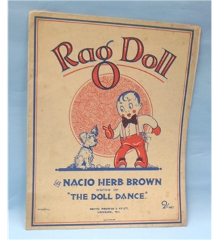 Rag Doll by Nacio Herb Brown. Published Keith Prowse & Co. Ltd.
