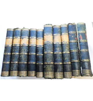 Leisure Hour. 1857-1866. A Family Journal of Instruction and Recreation. 10 Volume Set