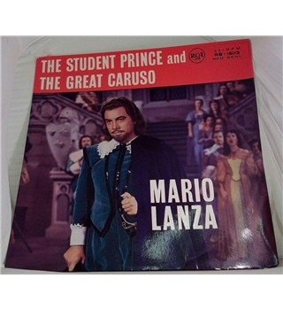 """""The Student Prince"" & ""The Great Caruso"""" LP by Mario Lanza - RB-16113"