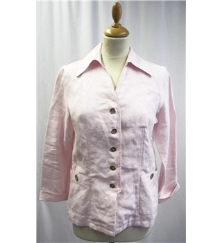 Avantgarde - Size: Small - Pink - Linen Jacket