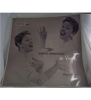"""Joyce Grenfell At Home"" LP - CLP 1155"