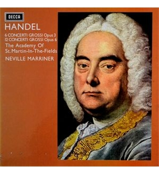Handel Concerti Grossi Opp. 3 & 6 Academy of St Martin in the Fields Neville Marriner - SDDB 294/7