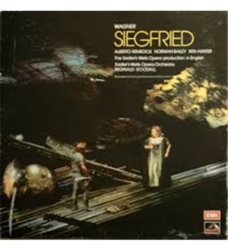 Wagner: Siegfried. Remedios. Bailey. Hunter. Sadler's Wells Opera Chorus and Orchestra. Reginald Goodall - SLS 875