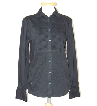 Zara - Size: XS - Black - Long sleeved shirt