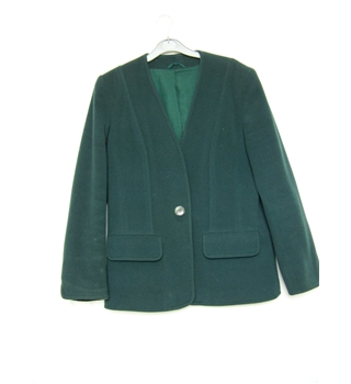 Unbranded - Size: 12 - Green - Jacket