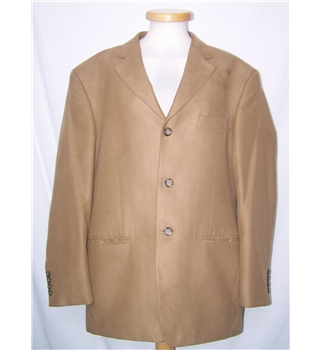 M&S Marks & Spencer - Size: M - Brown - Single breasted suit jacket