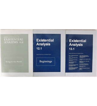 Existential Analysis 11.2,12.1 & 13.1