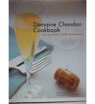 Domaine Chandon Cookbook- First Edition Signed copy