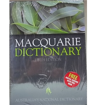 Macqarie Dictionary- Fifth Edition