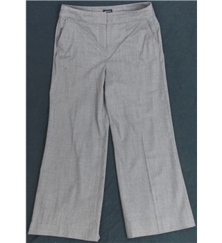 Jaeger - Size: 12 - Grey - Trousers
