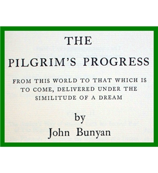 The Pilgrim's Progress. Folio 1964