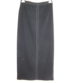Wallis - Size: 10 - Black - Long skirt