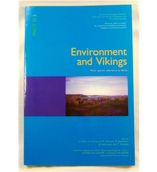 Environment and Vikings, with special reference to Birka