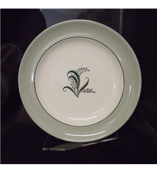 "Copeland Spode Olympus 6 1/4"" mint green tea/side plate"