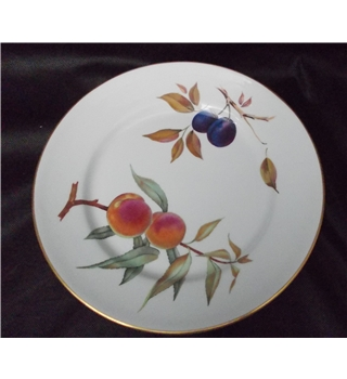 "Royal Worcester Evesham Gold 10"" dinner plate"