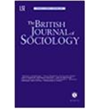 The British Journal of Sociology - Volume 51 Number 1 January/March 2000