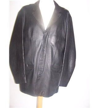 Moto - Size: L - Black - Leather jacket