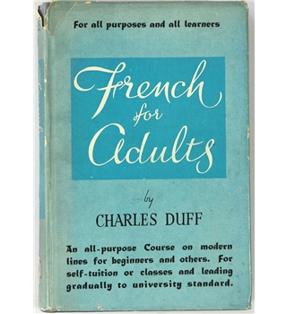 French For Adults By Charles Duff