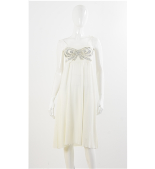 Butler & Wilson Size 6 Cream Evening / Bridal Dress