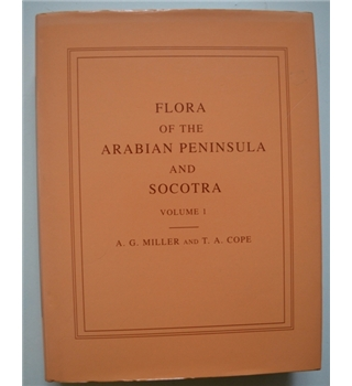 Flora of the Arabian Peninsula and Socotra - Volume 1