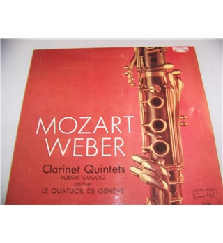 clarinet quintets by mozart and weber played by robert gugolz - smsa 2599