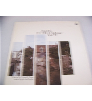 Music of the Family: Bach orchestra da camera di roma - knew lp 506