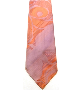 Tootal Lilac and Peach Patterned Tie