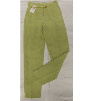 "Gerry Weber size: 28"" waist lime green trousers with belt"