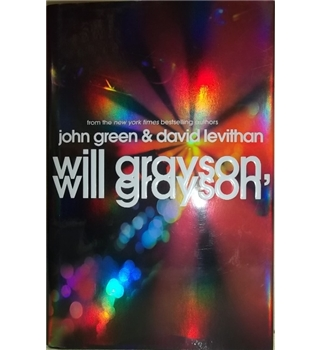 Will Grayson, Will Grayson- First Edition, First Printing