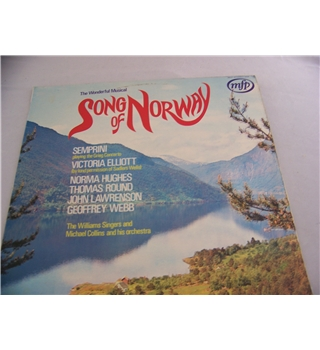 song of norway various - mfp 5239