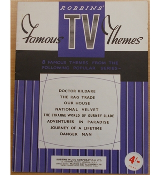 Robbins' Famous TV Themes - sheet music