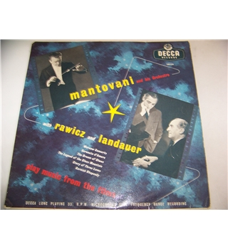 mantovani and his orchestra play music from the films - lk 4154