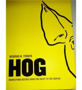 Hog- First Edition 2015, Rare Signed Copy
