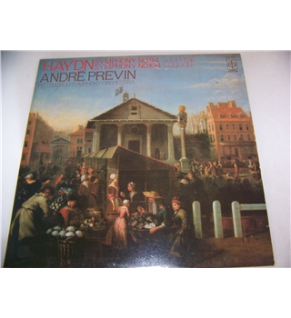 haydn symphonies 94 and 104 andré previn - cfp 4400