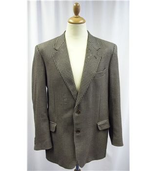 Jaeger - Size: Large - Brown  - Wool - Jacket