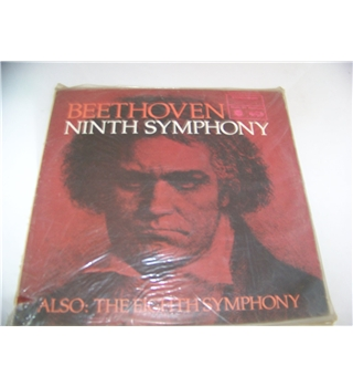 beethoven's ninth and eighth symphonies (double LP)pittsburgh symphony - mfp 2099/100