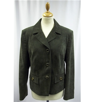 Viyella - Size: Medium - Olive green - Jacket