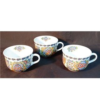 Opole Hand Painted Porcelain Teacups