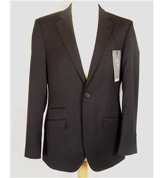 M&S Marks & Spencer - Size: S - Black - Single breasted suit jacket
