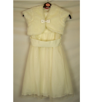 bhs Size: Age 6 Cream Dress and Bolero